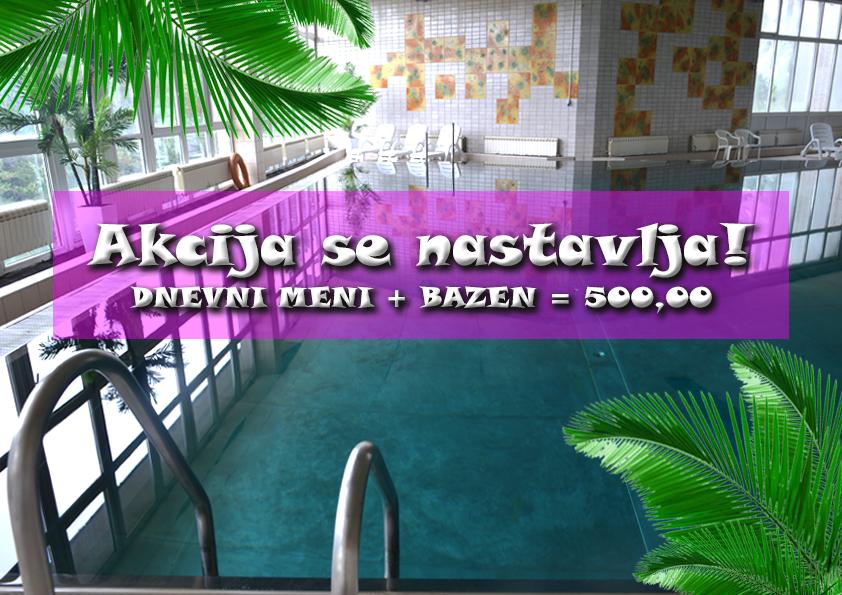 bazen hotel Omorika - akcija