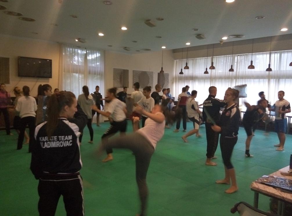 Sportske pripreme u Hotelu Beli bor (2)