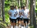 Fudbaler Partizana pripremaju se na Tari (4)