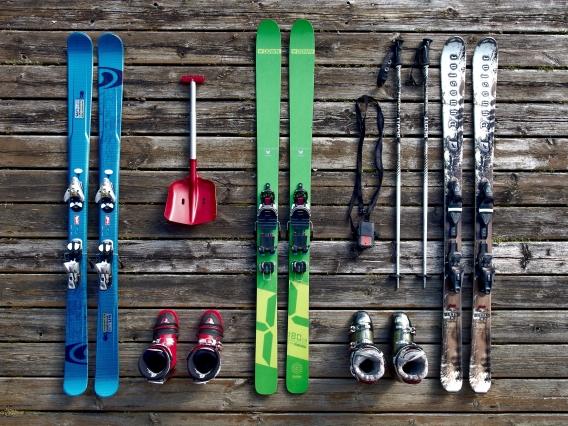 svin na snega akcija - skije