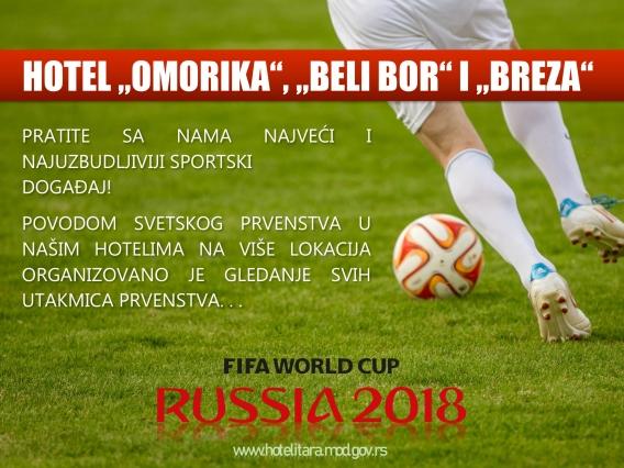 svetsko prvenstvo u fudbalu 2018 - NASLOVNA
